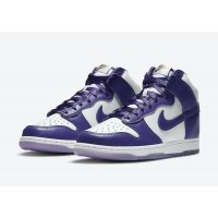Shoes Hi top trainers Nike Dunk High Varsity Purple White/Varsity Purple