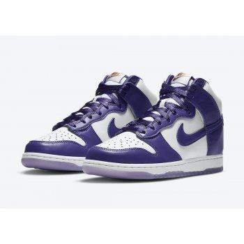 Shoes Hi top trainers Nike Dunk High Varsity Purple White/Varsity Purple