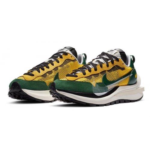 Shoes Low top trainers Nike Vaporwaffle Stadium Green Tour Yellow/Stadium Green-Sail