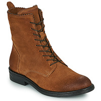 Shoes Women Mid boots Mjus PAL LACE Camel