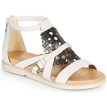 Shoes Women Sandals Mjus KETTA White / Silver