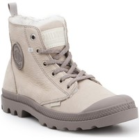 Shoes Women Hi top trainers Palladium Pampa HI Zip WL 95982-071-M beige