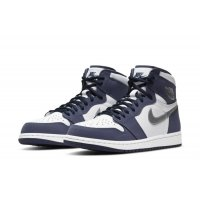 Shoes Multisport shoes Nike Air Jordan 1 Og JP Midnight  White/Midnight Navy-Metallic Silver