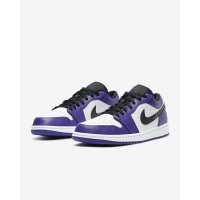 Shoes Low top trainers Nike Air Jordan 1 Low Court Purple Court Purple/White-Black