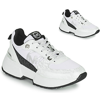Shoes Girl Low top trainers MICHAEL Michael Kors COSMO SPORT White / Black