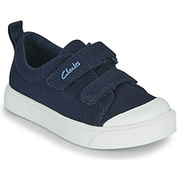 Shoes Children Low top trainers Clarks CITY BRIGHT T Marine