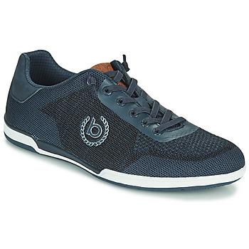 Shoes Men Low top trainers Bugatti SOLAR EXKO Marine
