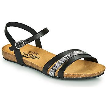 Shoes Women Sandals Plakton MAM ALOU Black