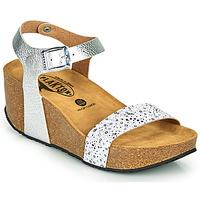 Shoes Women Sandals Plakton SO KISS Silver
