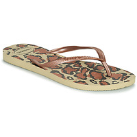 Shoes Women Flip flops Havaianas SLIM ANIMALS Multicoloured