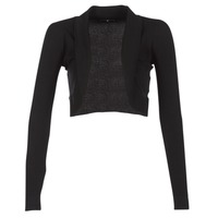 Clothing Women Jackets / Cardigans Morgan MOLU Black