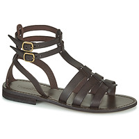 Shoes Women Sandals Dream in Green OBELLA Brown