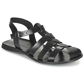 Shoes Men Sandals Dream in Green OPOL Black