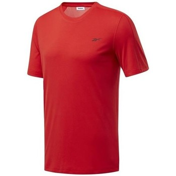 Clothing Men Short-sleeved t-shirts Reebok Sport Wor Comm Tech Tee Red