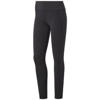 Clothing Women Leggings Reebok Sport TS Lux Tight 20 Black