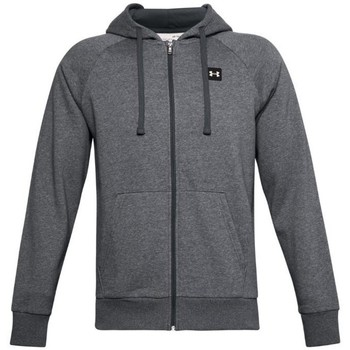 Clothing Men Sweaters Under Armour Rival Fleece FZ Hoodie Grey