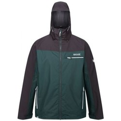 Clothing Men Macs Regatta HIGHTON Stretch Waterproof Shell Jacket Green