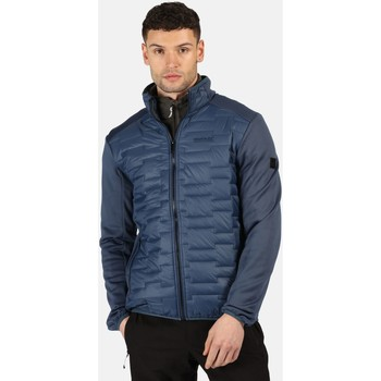 Clothing Men Duffel coats Regatta Clumber Hybrid Insulated Quilted Walking Jacket Blue Blue