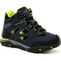 Shoes Children Boots Regatta HOLCOMBE IEP Mid Boots Blue
