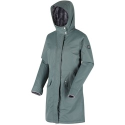 Clothing Women Parkas Regatta Women's Rimona Waterproof Insulated Hooded Parka Jacket Green