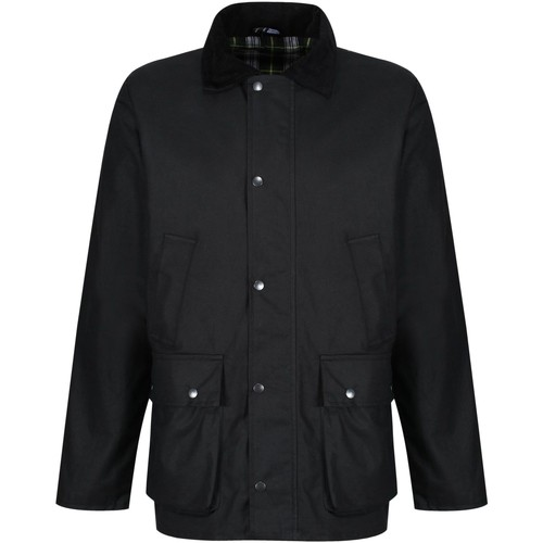 Clothing Men Coats Professional BANBURY Wax Jacket Black