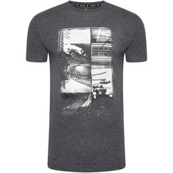 Clothing Men Short-sleeved t-shirts Dare 2b DEVOUT II Printed Design T-Shirt Grey