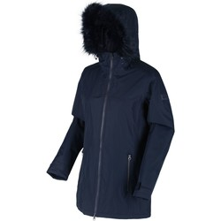 Clothing Women Parkas Regatta Women's Myla Waterproof Insulated Jacket Blue