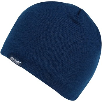 Clothes accessories Children Hats / Beanies / Bobble hats Regatta Kids' Banwell II Fleece Lined Beanie Blue