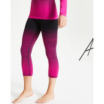 Clothing Women Leggings Dare 2b In The Zone Performance Base Layer 3/4 Leggings Pink Pink