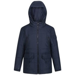Clothing Children Duffel coats Regatta Kids' Perico Insulated Hooded Jacket Blue