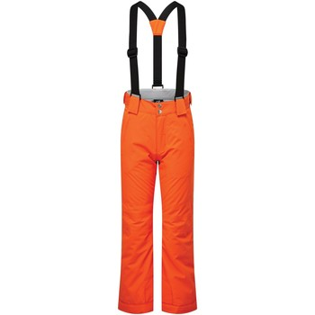 Clothing Children Jumpsuits / Dungarees Dare 2b Kids' Motive Waterproof Insulated Ski Pants Orange