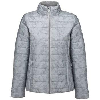 Clothing Women Duffel coats Regatta Freezeway II Insulated Quilted Walking Jacket Grey Grey