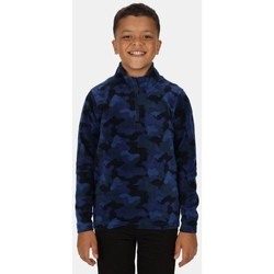 Clothing Children Fleeces Regatta Kids Lovely Jubblie Lightweight Half Zip Printed Fleece Blue Blue