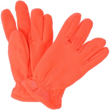 Clothes accessories Children Gloves Regatta Kids Taz II Basic Fleece Gloves Fiery Coral  Orange Orange