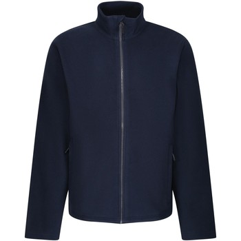 Clothing Men Fleeces Professional HONESTLY MADE Full-Zip Fleece Navy Blue Blue