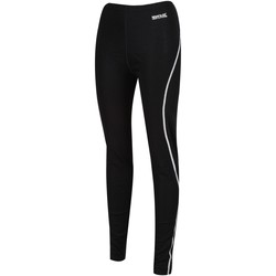 Clothing Women Leggings Regatta Women's Zimba Merino Wool Base Leggings Black