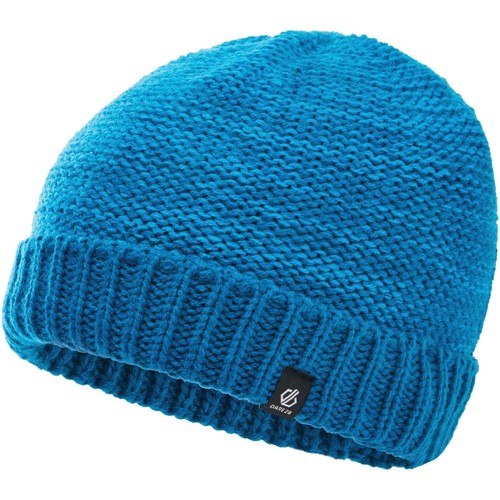 Clothes accessories Children Hats / Beanies / Bobble hats Dare 2b Boys' Hilarity Fleece Lined Knit Beanie Blue