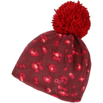Clothes accessories Children Hats / Beanies / Bobble hats Regatta Kids' Fallon Printed Fleece Hat Purple