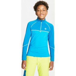 Clothing Children Track tops Dare 2b Kids' Formate Core Stretch Half Zip Midlayer Blue