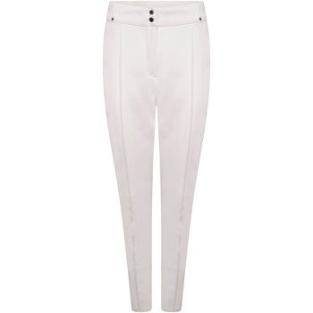 Clothing Women Trousers Dare 2b Swarovski Embellished -  Sleek Waterproof Luxe Ski Pants White White