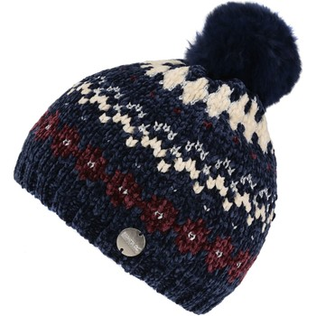 Clothes accessories Children Hats / Beanies / Bobble hats Regatta Hedy Lux III Fleece Lined Knitted Bobble Hat Blue Blue