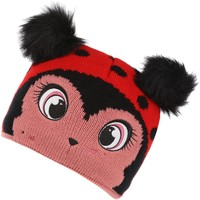 Clothes accessories Children Hats / Beanies / Bobble hats Regatta Animally III Knitted Beanie Hat Powder Pink Rabbit Red Red