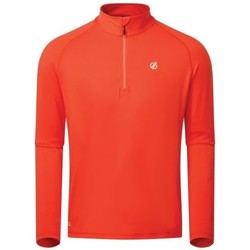 Clothing Men Sweaters Dare 2b Men's Fuse Up II Half Zip Lightweight Core Stretch Midlayer Orange