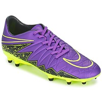 Shoes Men Football shoes Nike HYPERVENOM PHELON II FG Purple
