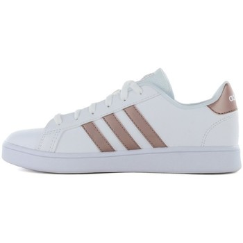 Shoes Women Low top trainers adidas Originals Grand court k EF0101 White