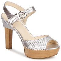 Shoes Women Sandals Fabi KAITE Silver