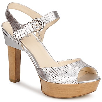 Shoes Women Sandals Fabi KAITE Silver