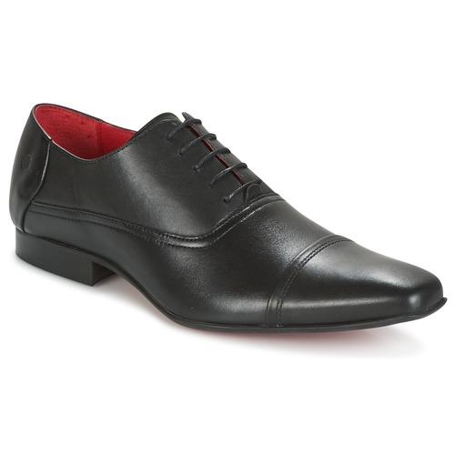 Shoes Men Brogues Carlington ITIPIQ Black