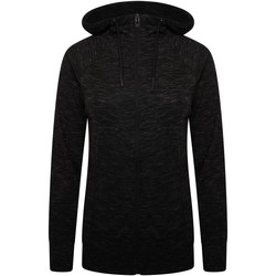 Clothing Women Fleeces Dare 2b PULL THROUGH Full Zip Hoodie Grey