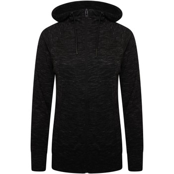 Clothing Women Fleeces Dare 2b PULL THROUGH Full Zip Hoodie Charcoal Grey Marl Grey Grey